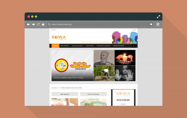 Izrada sajta Sowa Media